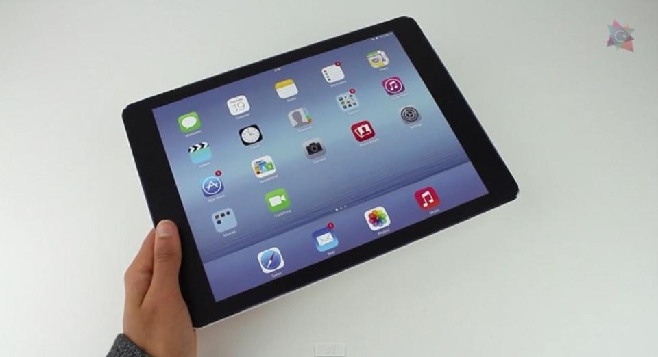 12.2インチのiPad Air Plusはこんなサイズ感?なモック動画