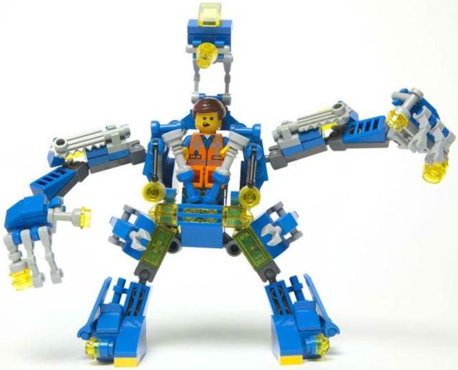 80年代を彷彿とさせるレゴロボット