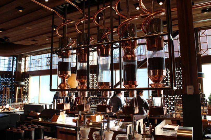 世界最大のスタバはコーヒーのテーマパーク