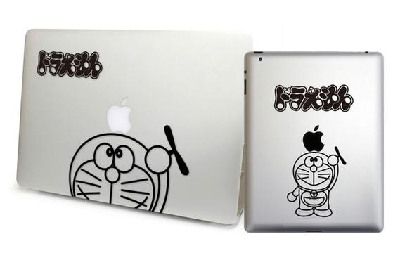 悪いなのび太、このドラえもん。MacbookとiPad用なんだ