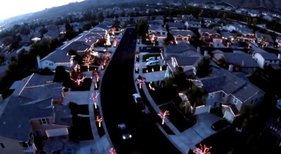 近所一丸となって贈る、THEクリスマスイルミネーションSHOW