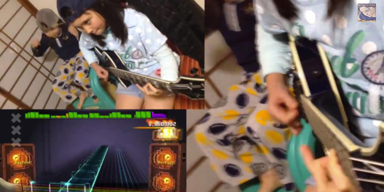 11歳の少女がRage Against the Machineを完璧に弾きこなす!