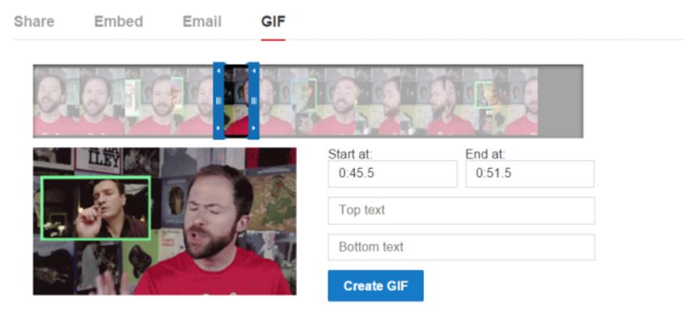 YouTube公式GIFメーカーがついに来る!