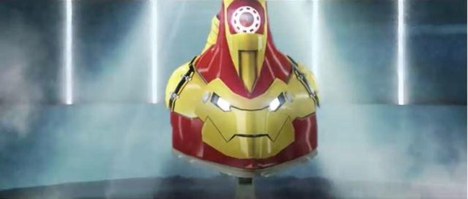 おまたせ。「アイアンマン」のパロディ「アイロンマン」の予告編登場