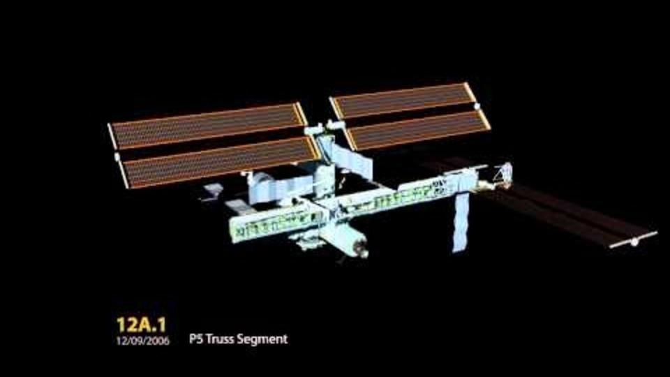 国際宇宙ステーションが完成するまでをタイムラプスで見てみよう