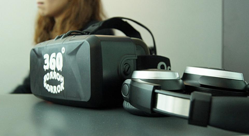 Oculus Riftと心拍計を組み合わせた新たな体験「360°ホラー」