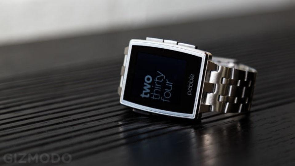 スマートウォッチPebbleでもAndroid Wearの通知機能が使えるように