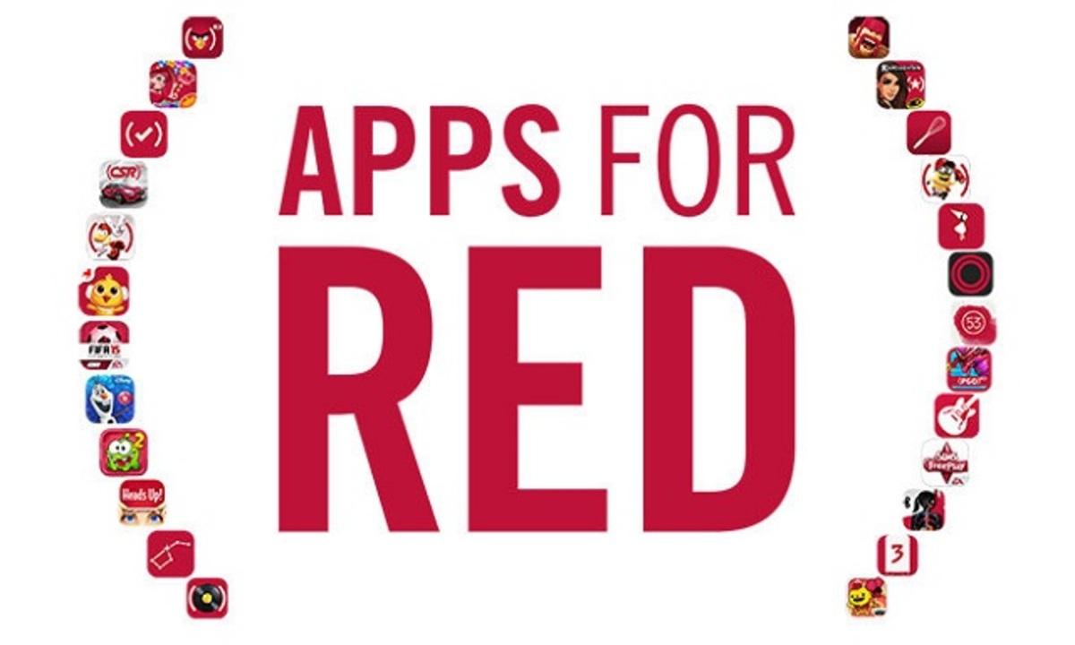 アップル、2000万ドル以上をエイズ撲滅プロジェクト(RED)に寄付