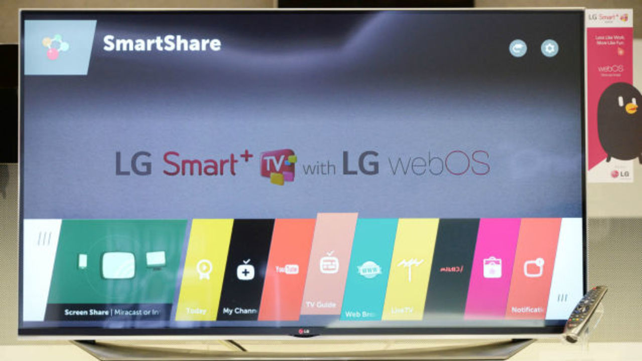 LG、次期スマートテレビ向けにWebOS 2.0を発表