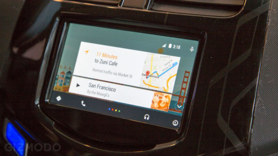 グーグルの車載専用Androidはスマホいらず?