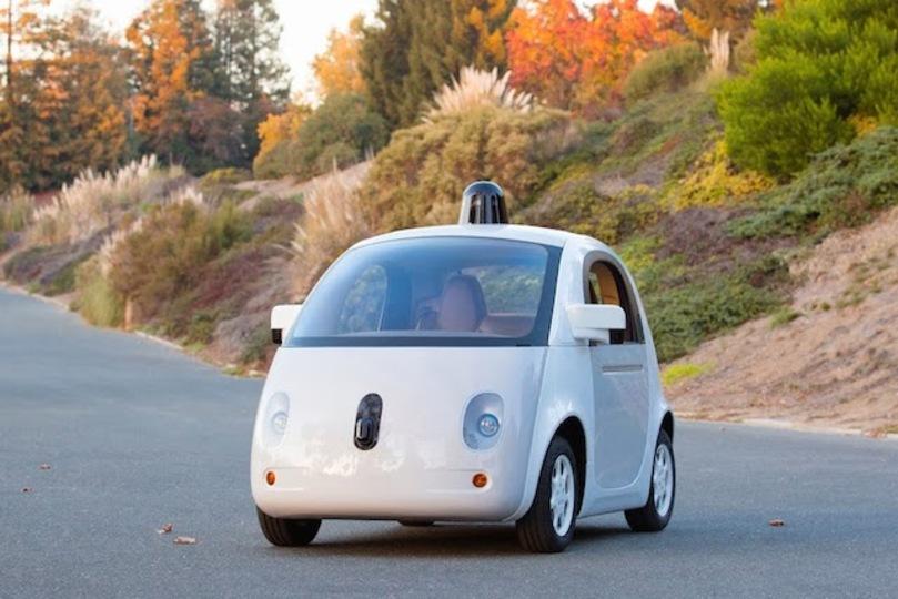 グーグル自走車の新しいデザインが公開