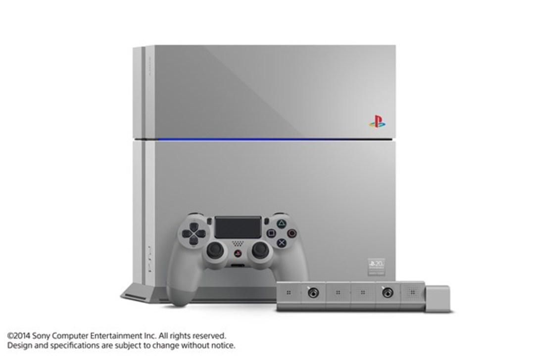 末代まで受け継ぐべき一品、PS1カラーのPS4がヤフオクに #ps_20th_love