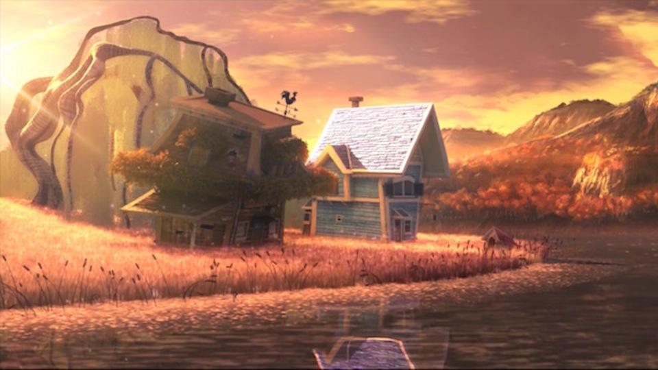 ちょっぴり切ない、家を擬人化したショートムービー