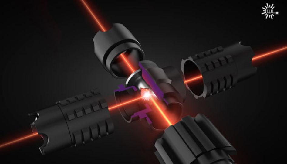 あの十字ライトセーバーそっくりな超強力十字レーザーが例の会社から