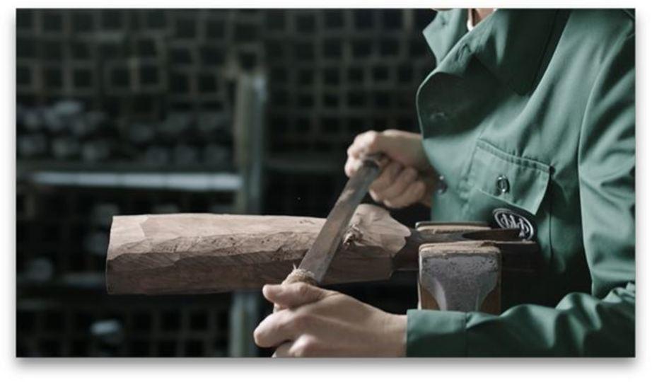 ベレッタの猟銃の妖しくも美しい製作工程