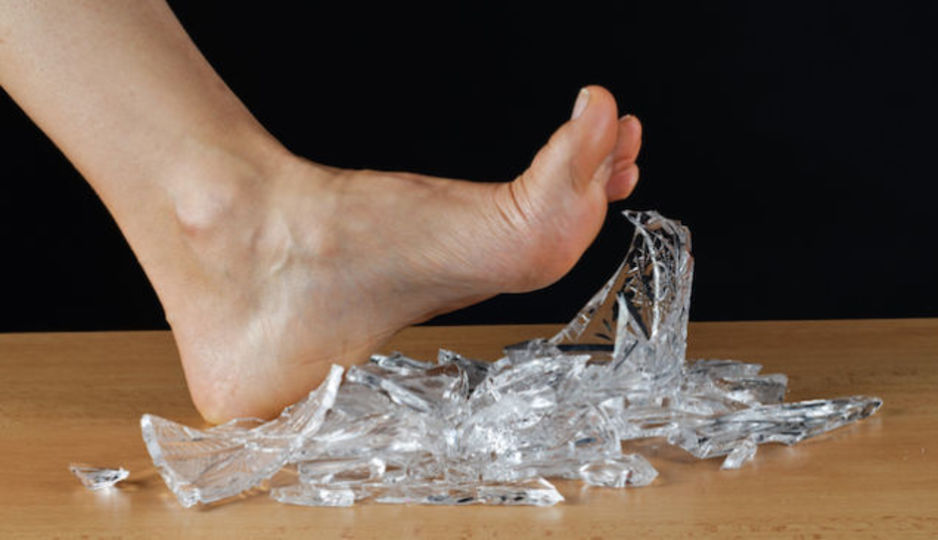 Broken Glass Die Hard