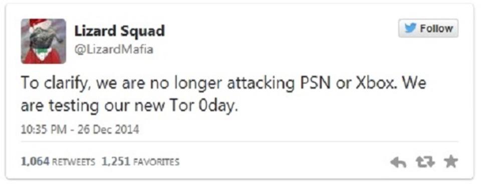 ハッカー集団、今度は匿名通信「Tor」への攻撃表明