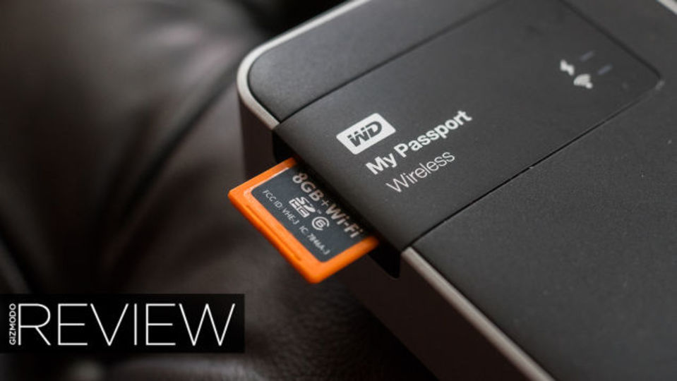 初めてのSDカードスロット搭載HDD「My Passport Wireless」レヴュー、アイデアは良いけれど…