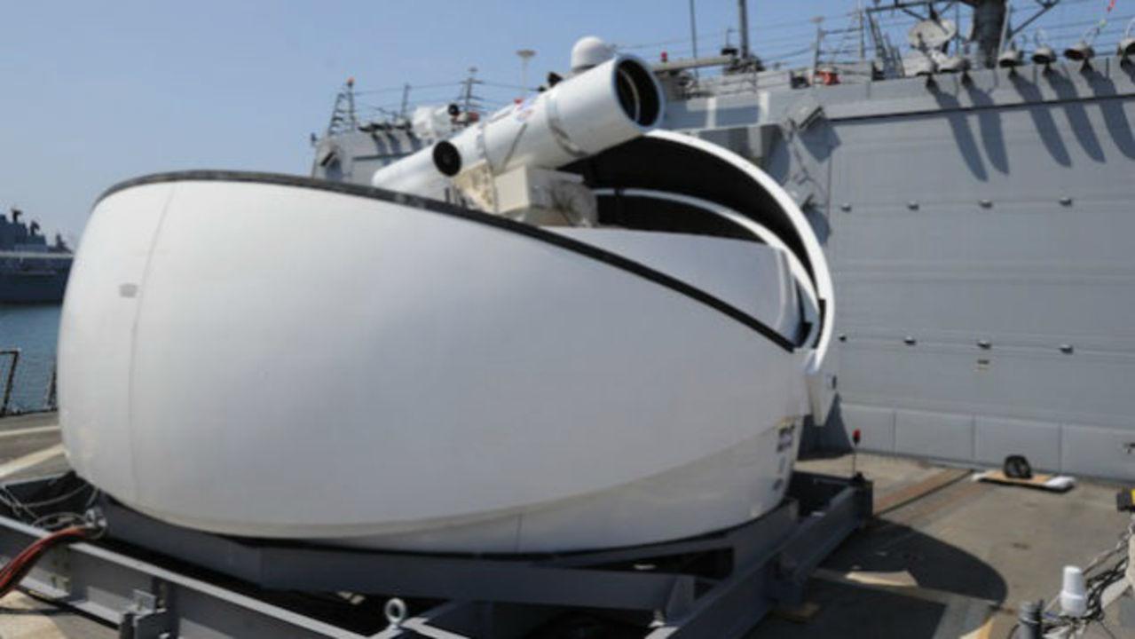 ドローンも粉々…。アメリカ海軍の最新兵器「レーザー砲」の威力