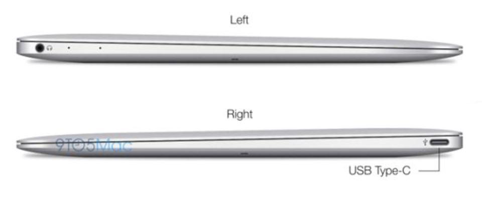 12インチMacBook Airはポートを殺す?