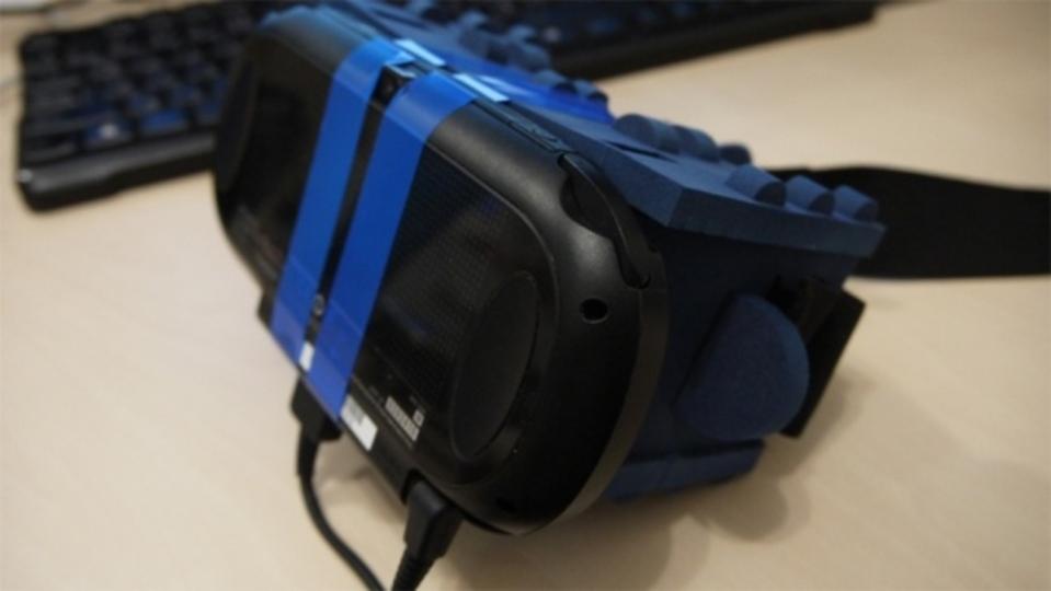 PlayStation VitaがちょっとしたアイディアでVRヘッドセットに変身