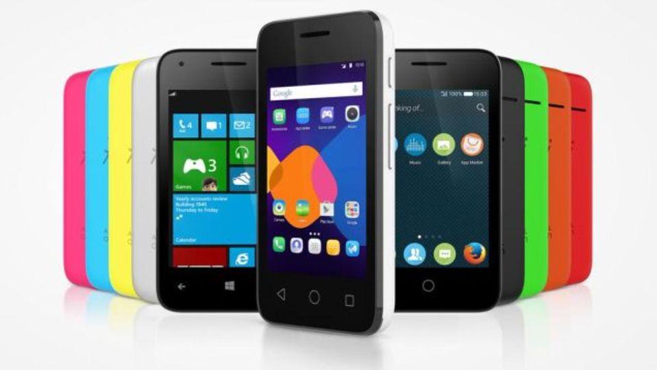 Android、Windows、Firefox OSを搭載できるスマートフォンをAlcatelが発表