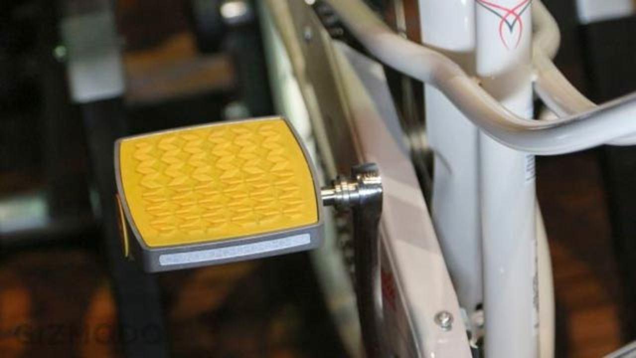 進化した自転車ペダル