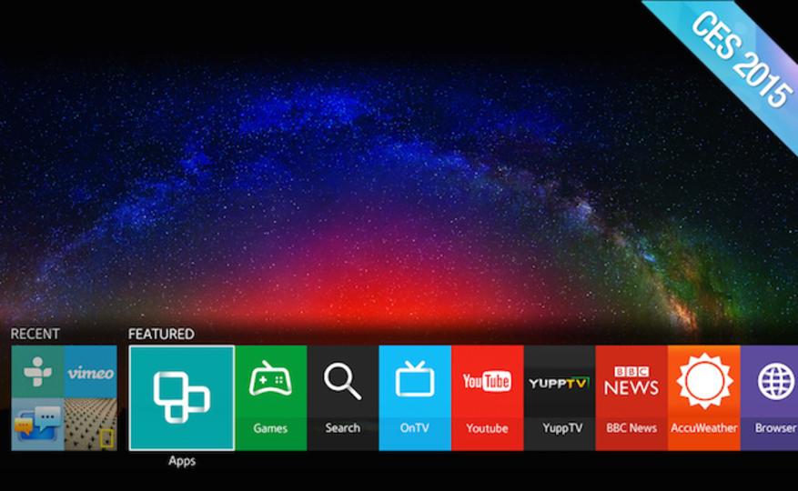 サムスン、Tizen OS採用のスマートTVをまもなく正式発表