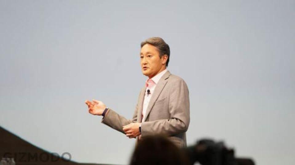 ソニー平井社長かく語りき。「表現の自由はソニーのライフラインだ!」