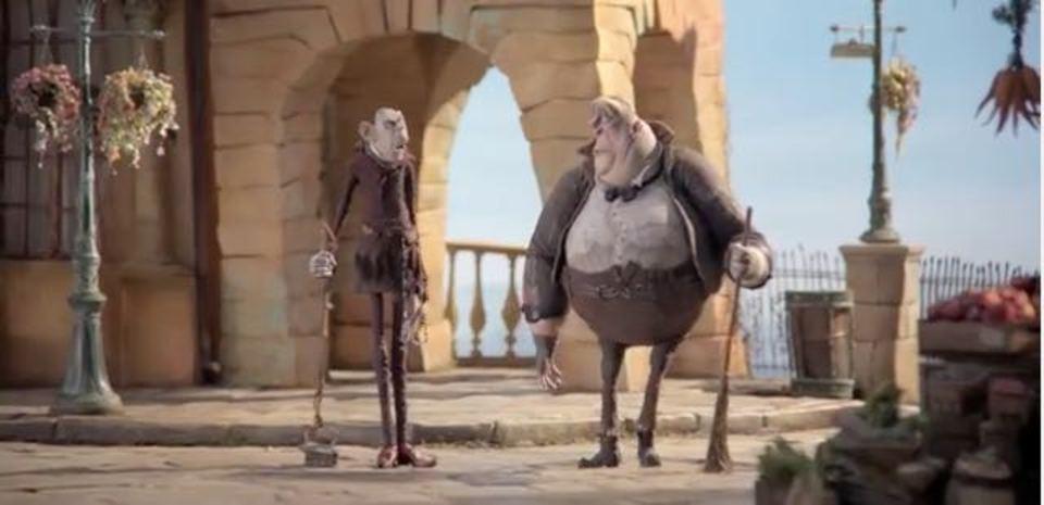 コマ撮りアニメの撮影の様子を映したタイムラプス動画
