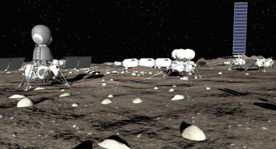 ロシアの企業、月面に基地建設を計画