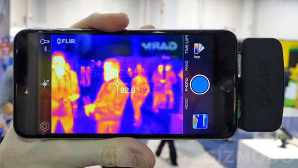 Seek Thermal Camera >> スマホ用赤外線サーモグラフィ「Flir One」がバージョンアップして登場   ギズモード・ジャパン