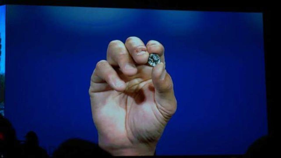 インテルのCurie Module、さまざまなモノをスマート端末に