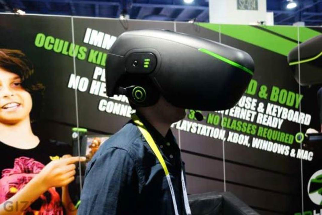 Oculusキラーと言われるVRヘッドセットが炊飯器に見える…