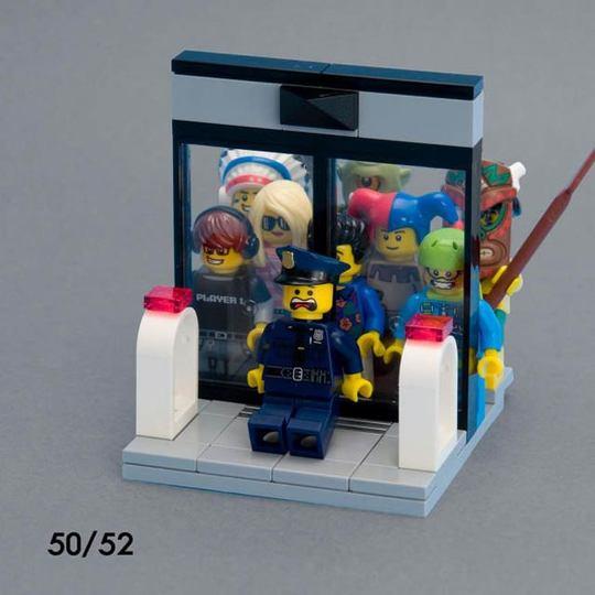 毎週コツコツと作り続けたレゴで作るミニ場面