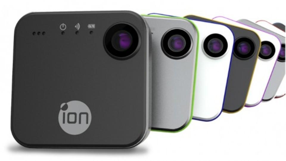 HD画質でストリーミングもできるウェアラブルなライフログカメラ