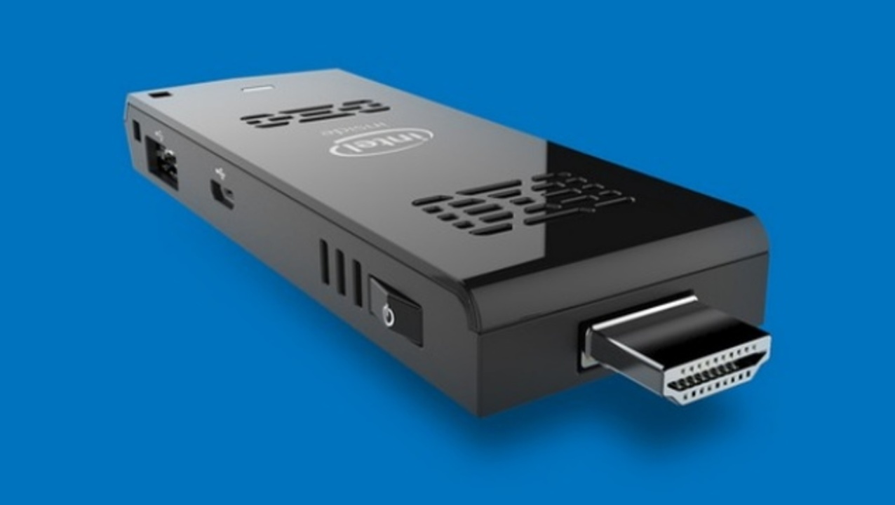 インテルからテレビのHDMI接続スティック型PC