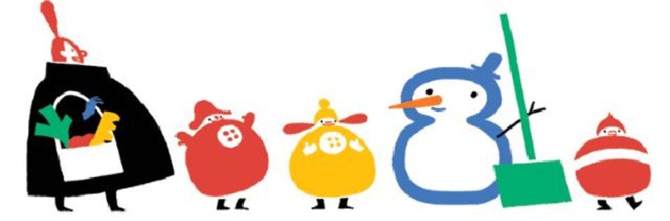 可愛いけどキワドイ? グーグルがボツにした四季折々のGoogle Doodle