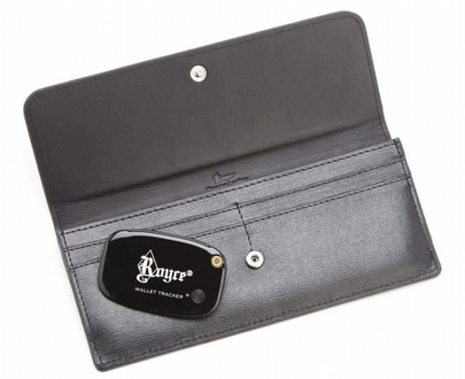 絶対安心…GPS搭載の高級ブランド長財布が発売