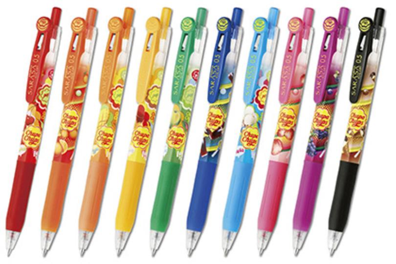 あまーーい! このボールペン、チュッパチャプスの香りがするよ