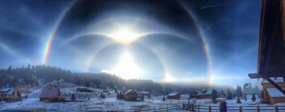 太陽光で異空間が出現?