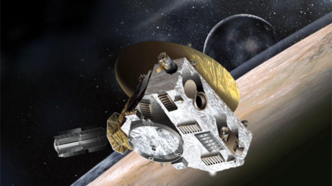 冥王星発見者の遺灰、冥王星へ向かう