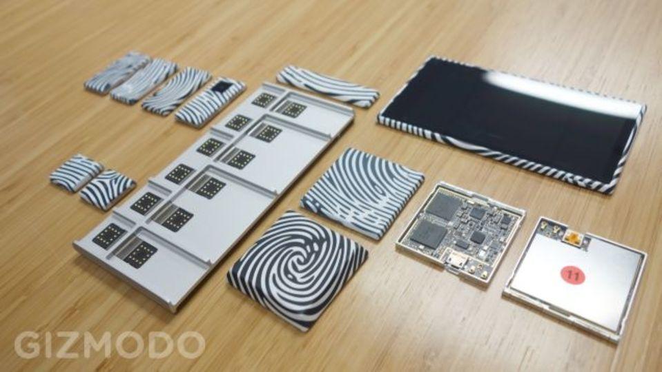 モジュールスマホ「Project Ara」を米GIZMODOがハンズオン