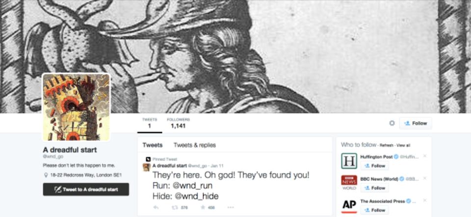 23ものTwitterアカウントを巡って楽しむゲームブック
