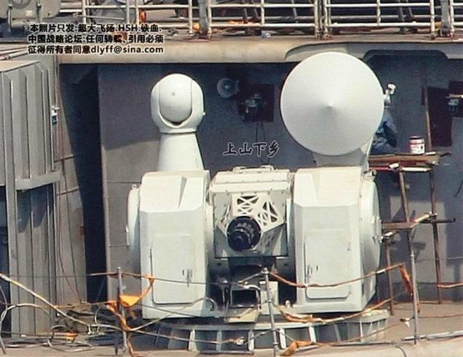 中国の最新式11銃身超音速ミサイルキラー