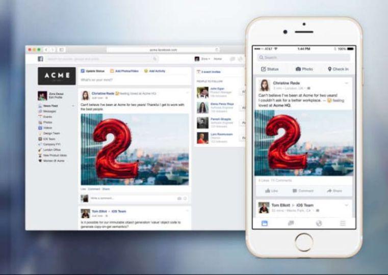 会社用FB「Facebook at Work」で、担当者探しの旅が終結?