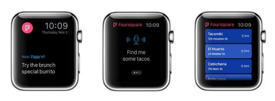 Apple Watch上で見るあのアプリはどんなでしょう?
