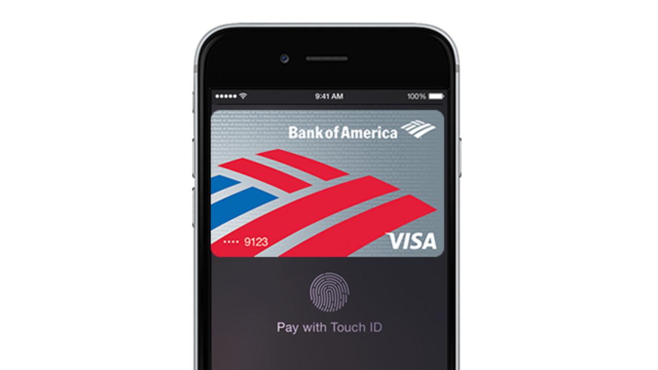 米銀行大手Bank of AmericaでApple Payユーザが80万人を突破