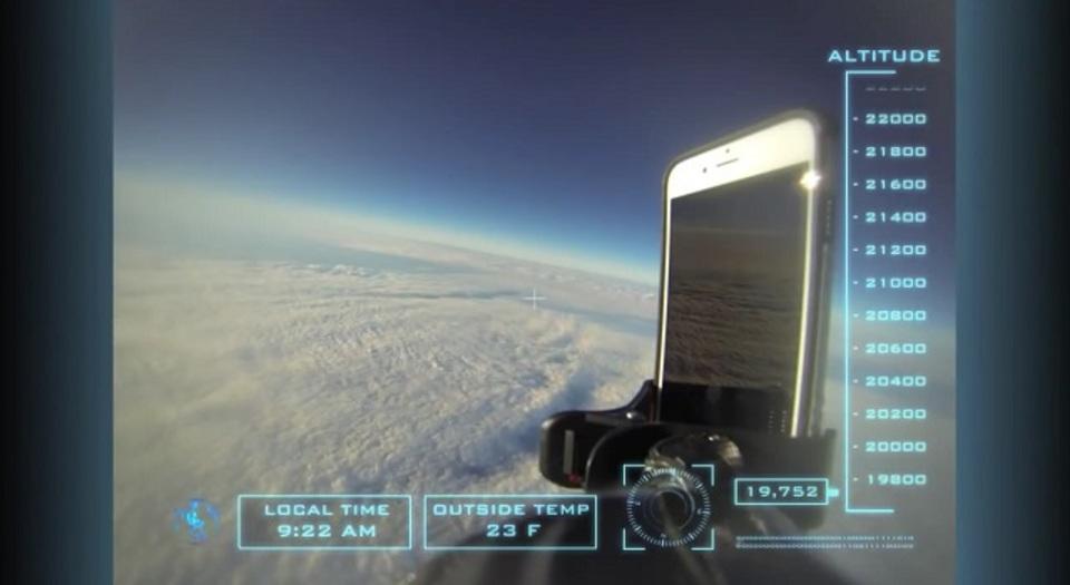 宇宙から落としても大丈夫。そう、iPhoneならね