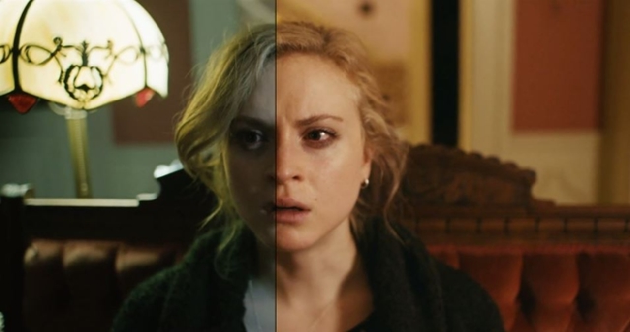 色補正でこんなに変わる。ホラー映画の感情比較動画